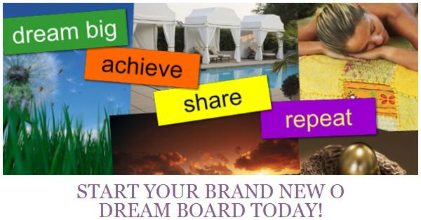 Oprah Dream Board